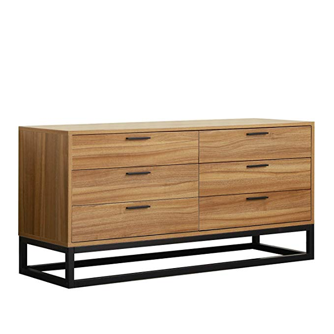 Amazon Com Dlandhome Wood Dressers 47 2 Inches Storage Cabinet With Drawers Console Table Entry Storage Cabinet With Drawers Dresser Storage Entry Hall Table