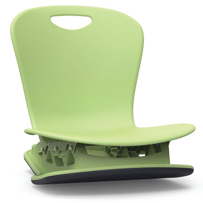 Zuma Floor Rocker Chair 18 Shell By Virco Zflrock18 91657