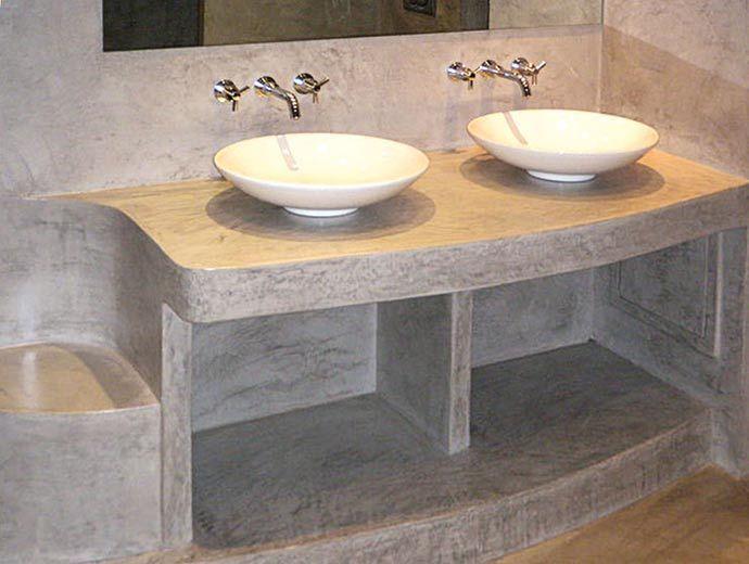 Bagno retrò ~ Microcemento arredo bagno pavimenti e design