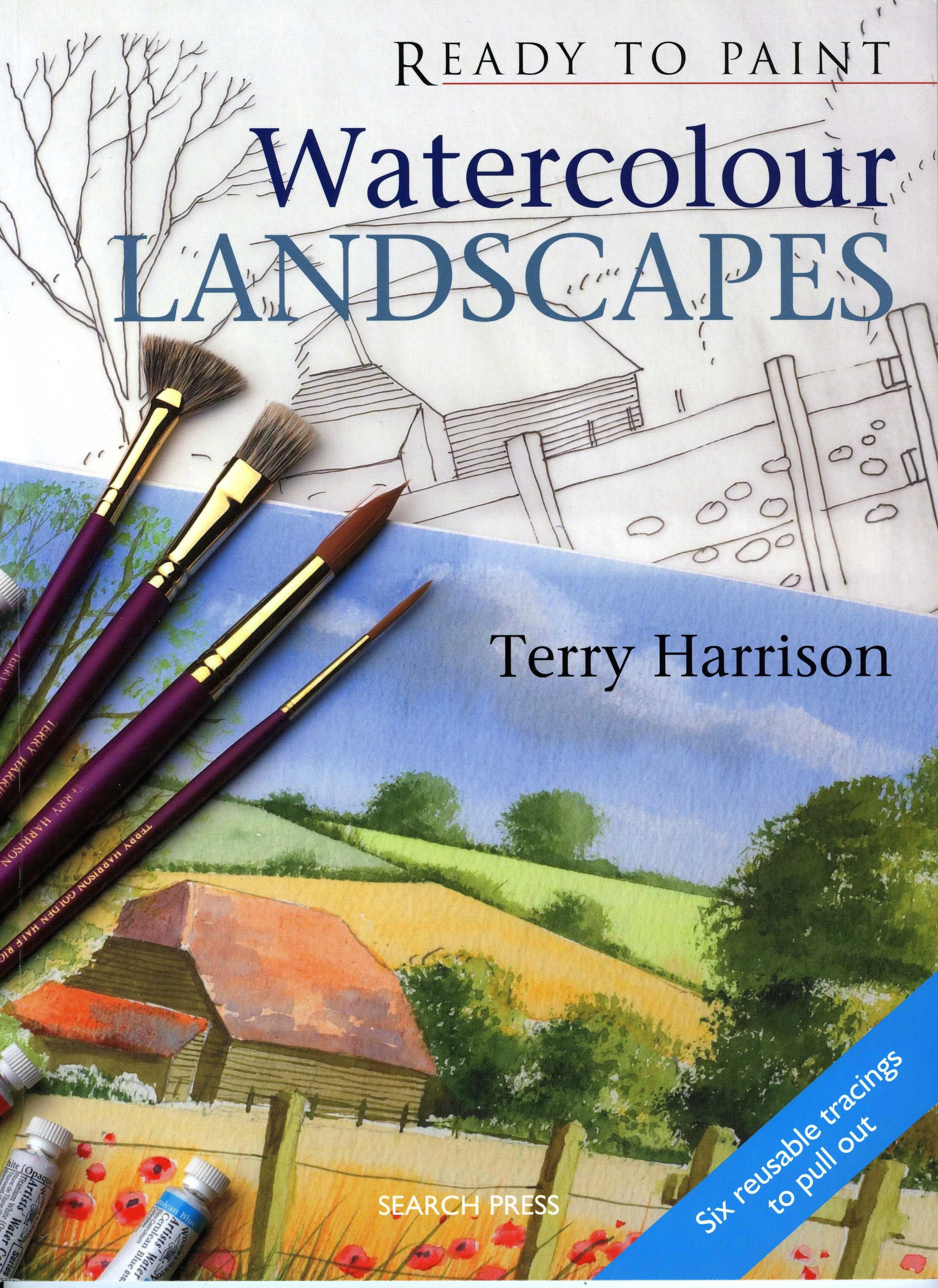 Watercolor books by search press - Watercolour Landscapes Landscapesbook Jacketwatercolourswatercolor