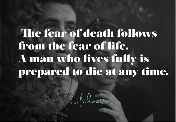 sad quotes about life and death