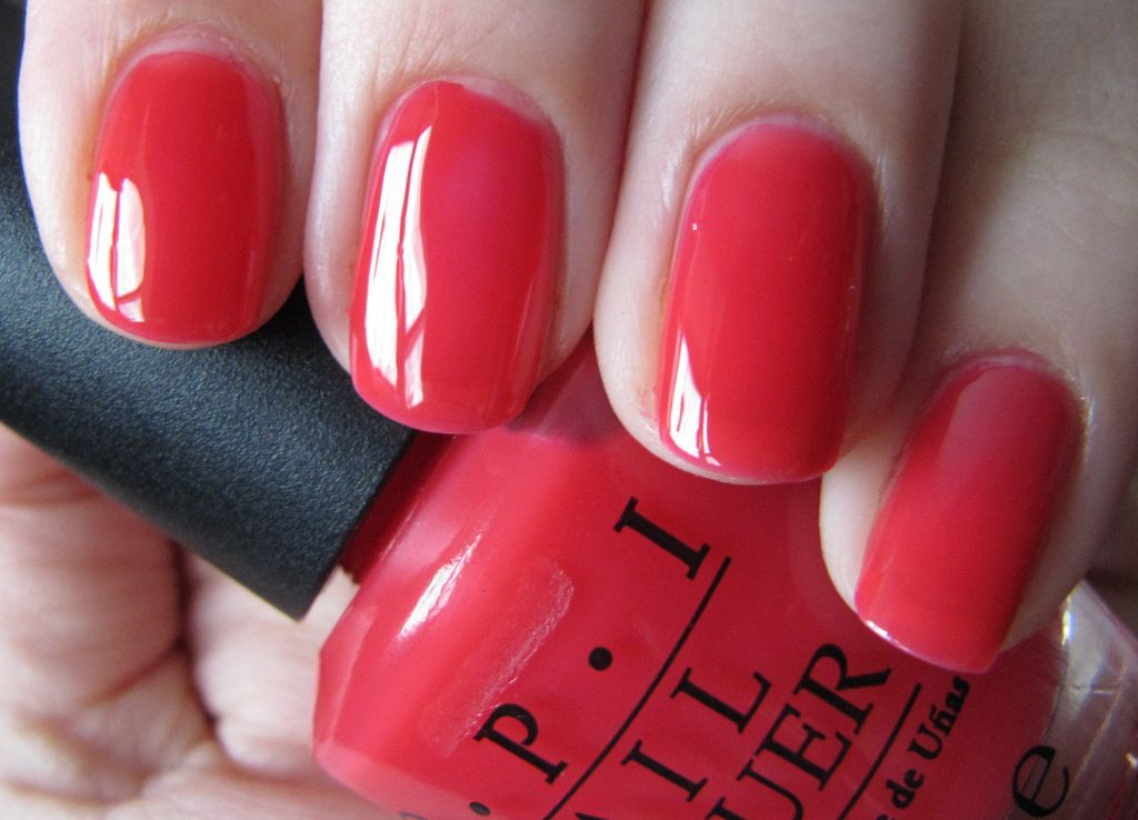 OPI - Guy Meet Gal-veston | OPI, Opi red and Swatch