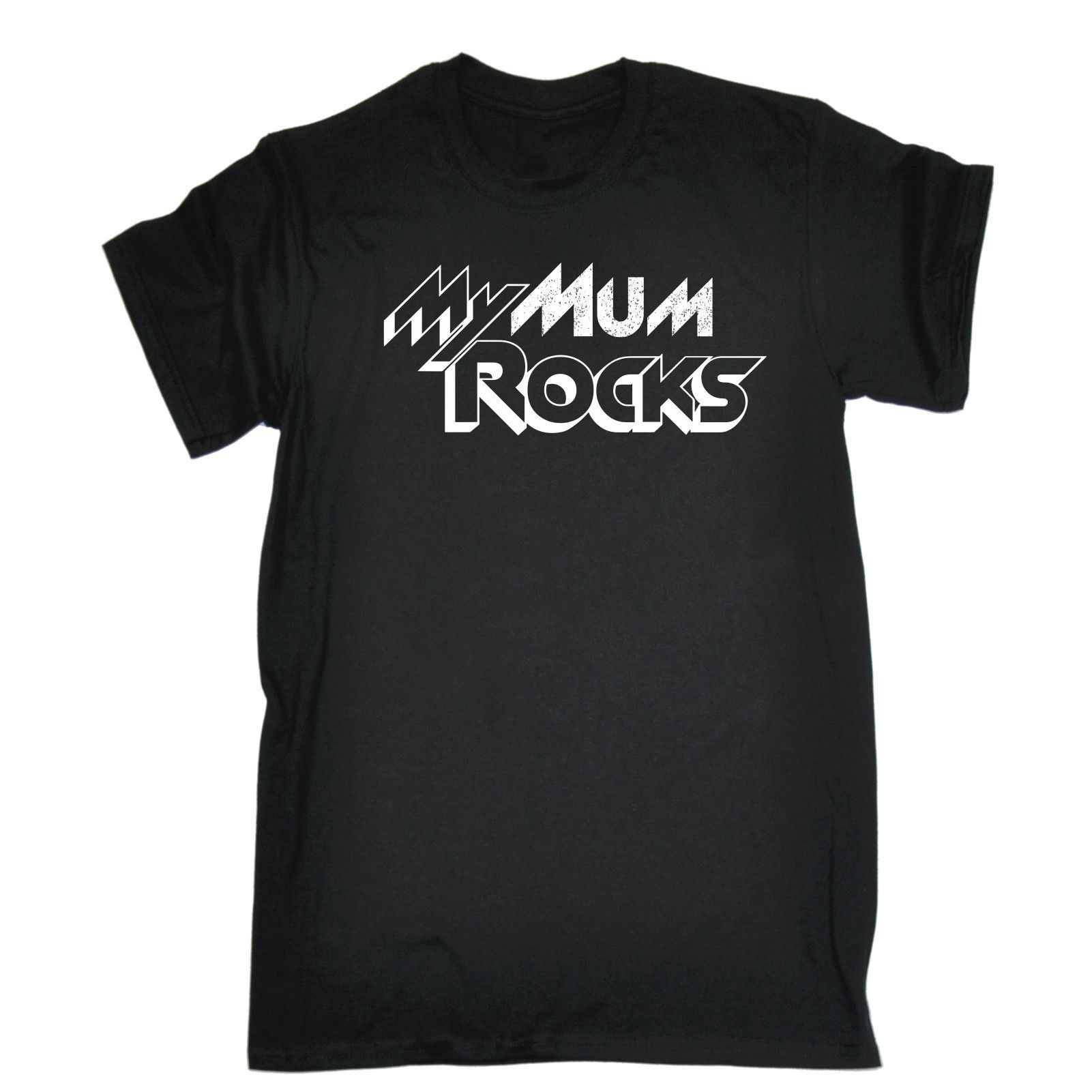 123t USA Men's My Mum Rocks Funny T-Shirt