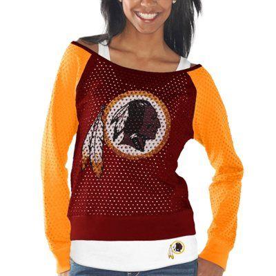Washington Redskins Women's Victory Is Sweet Half-Sleeve T-Shirt - Gold