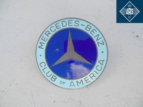 Mercedes Benz Club Of America MBCA Grill Badge