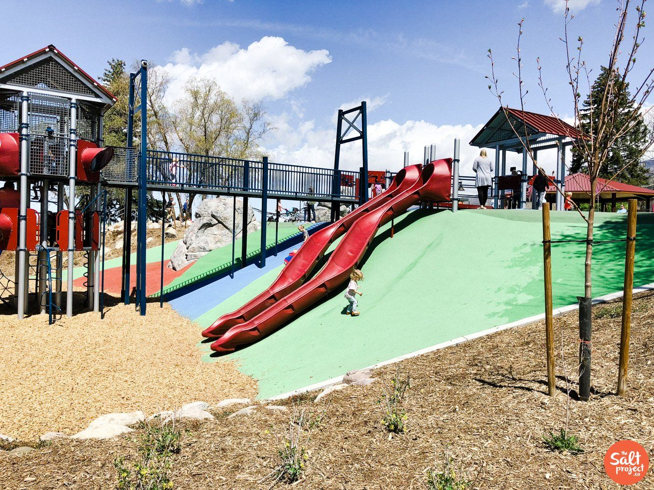 Creekside Park In Bountiful The Salt Project Things To Do In Utah With Kids Park Bountiful Water Park