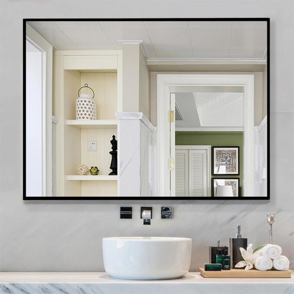 NeuType Rectangle Modern/Simple Bathroom Vanity Mirror