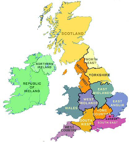 East midlands and west midlands are in the central section of britain gumiabroncs Images