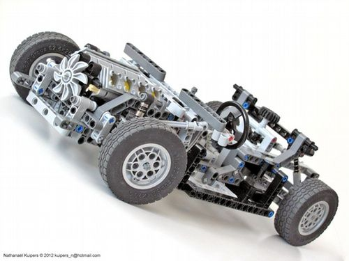 Car Chassis A Lego Creation By Nathanael Kuipers Mocpages Com
