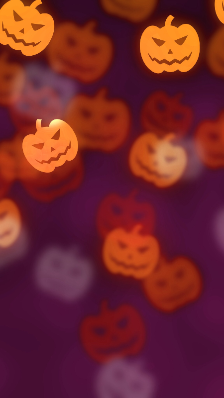 Halloween Pumpkin Wallpaper / Samsung / Smartphone