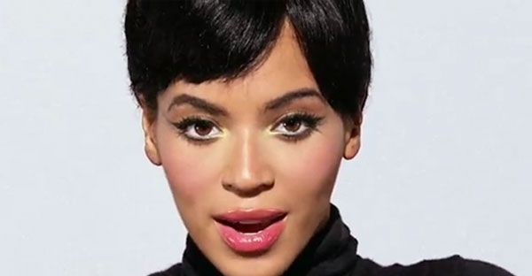 beyonce makeup countdown 50s protruding eyes