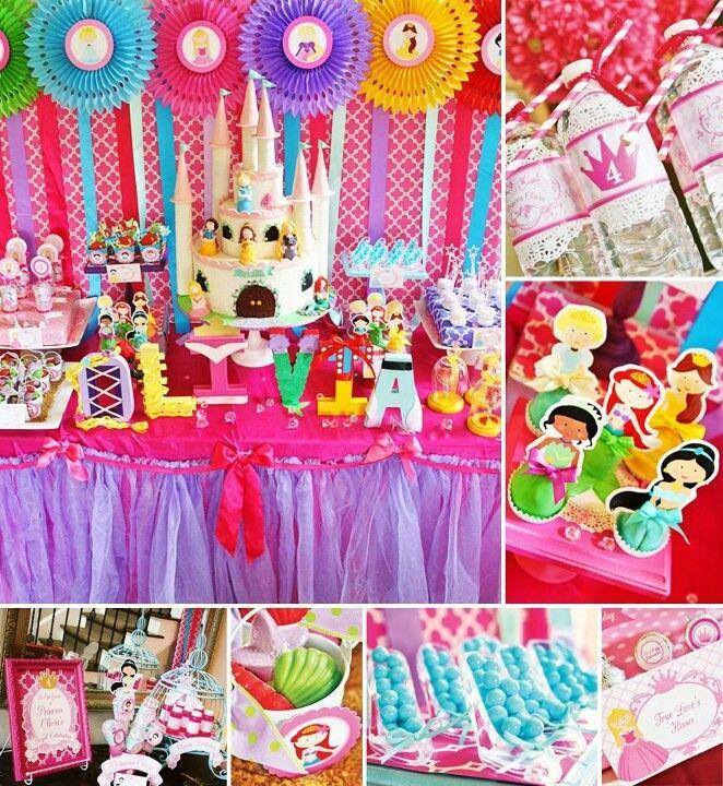 Princess Party | Princess Party | Pinterest | Princesas