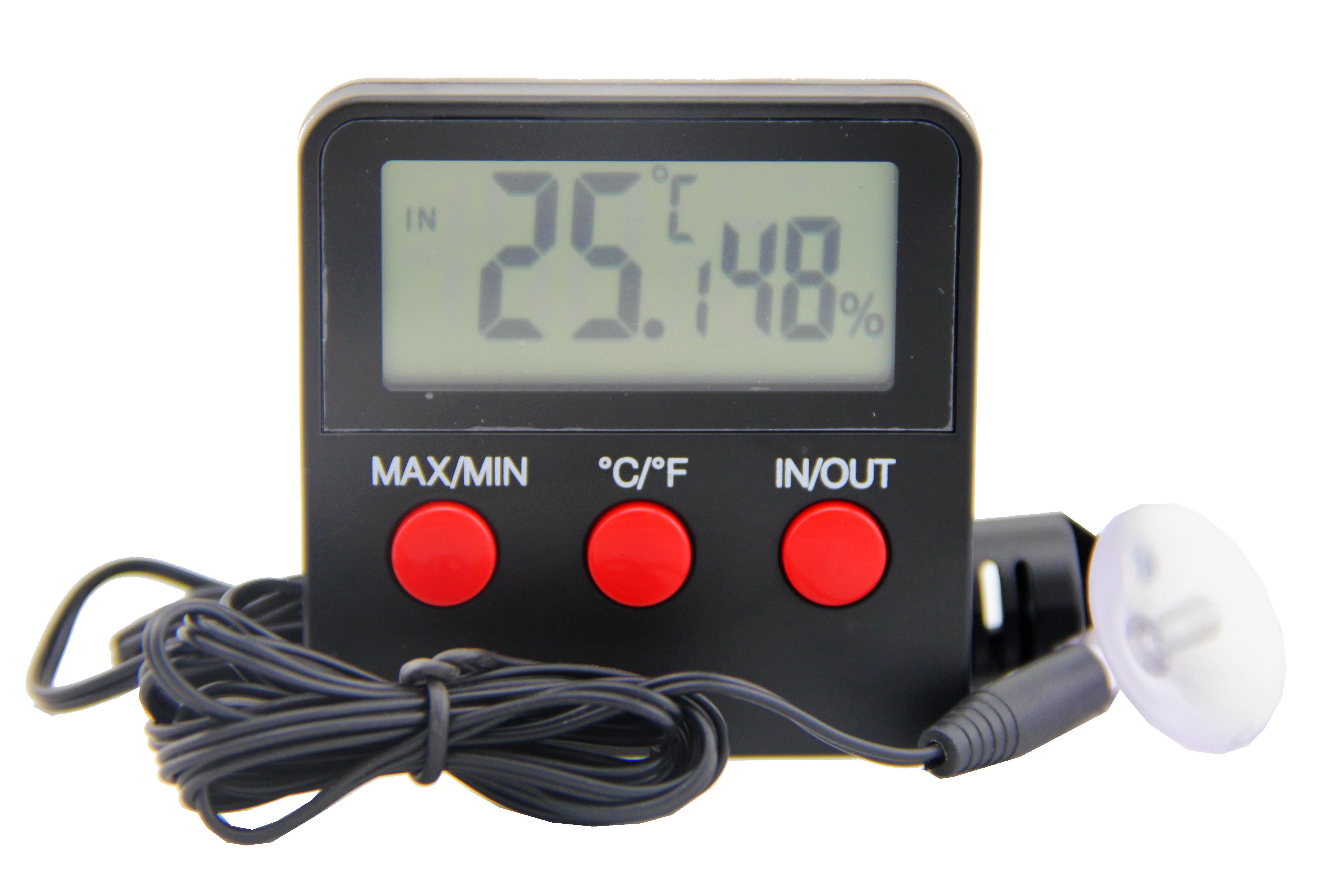 This Digital Thermometer Hygrometer Min Max With A Large Display