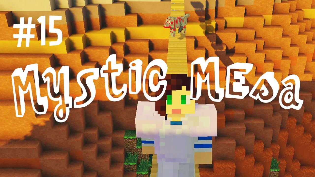 ADVANCED REDSTONE - MYSTIC MESA MODDED MINECRAFT (EP 15