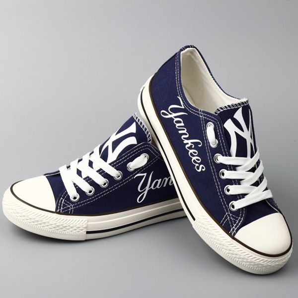 New York Yankees Converse Style Shoes cutesportsfan