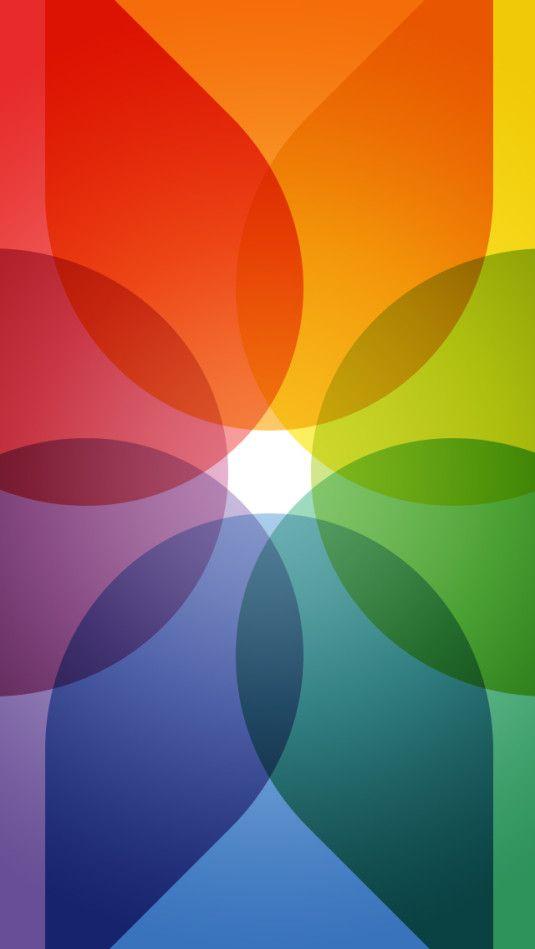 Rainbow Color Wheel Beautiful Wallpaper Colorwheel Lovely Ios 7 Wallpaper Iphone 6 Wallpaper Backgrounds Ipad Wallpaper