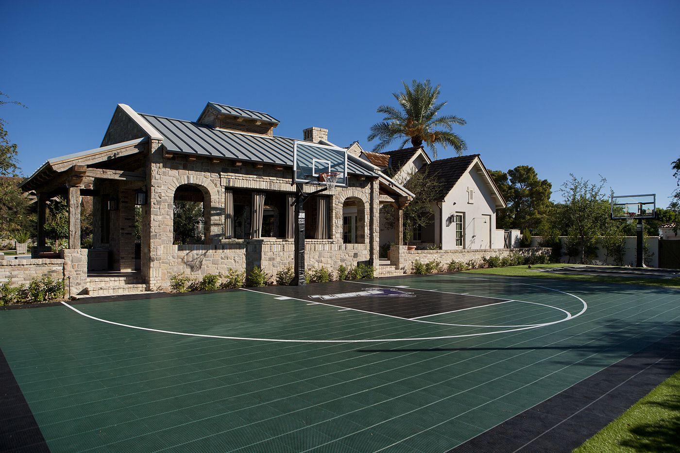backyard sport court outdoor living by nance pinterest