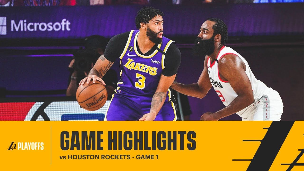 Highlights Los Angeles Lakers Vs Houston Rockets In 2020 Houston Rockets Lakers Vs Los Angeles Lakers