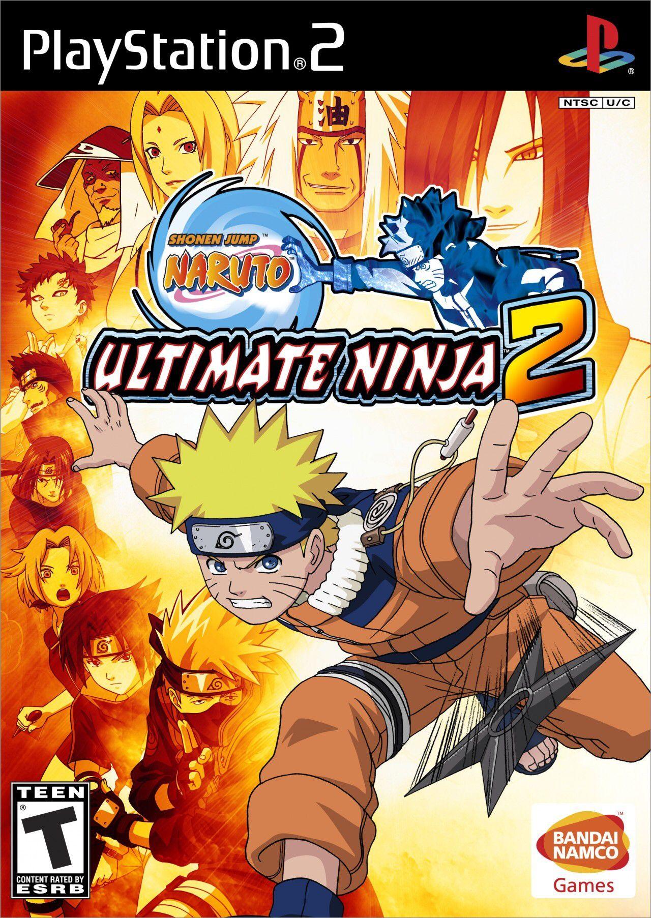 Naruto Ultimate Ninja 2 Jogos Xbox Jogos De Xbox 360 Jogos Do Naruto