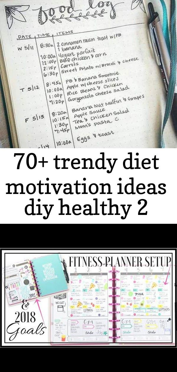 70 trendy diet motivation ideas diy healthy 2 70 Trendy Diet Motivation Ideas Diy Healthy My 2018 Fitness Planner   Setup  Goals  At Home With Quita  YouTube Weekly Meal...