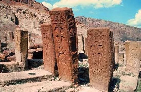 Image result for armenian grave northern iran