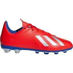 Photo of Adidas kids football boots X 18.4 FxG, size 38 in red / blue / silver, size 38 in red / blue / silver adi
