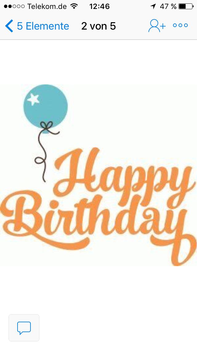 Pin By Ute Helmholz On Anlasse Birthday Verses Birthday Clips Happy Birthday