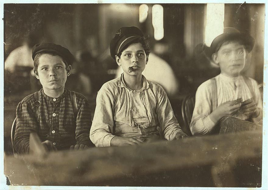 child cigar makers