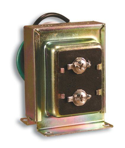 Heath Zenith 121ac Wired Door Chime Transformer By Heath Zenith 9 39 Amazon Com Use This Lock Nut Type Transform Doorbell Transformer Volt Ampere Junction Boxes