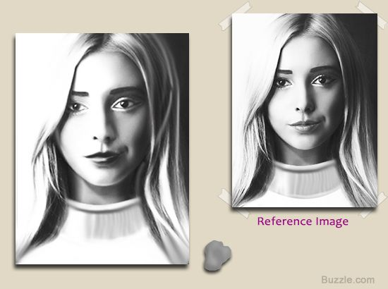 Colors of soot tips on how to draw with charcoal charcoal how to draw a face using charcoal step 7 ccuart Images