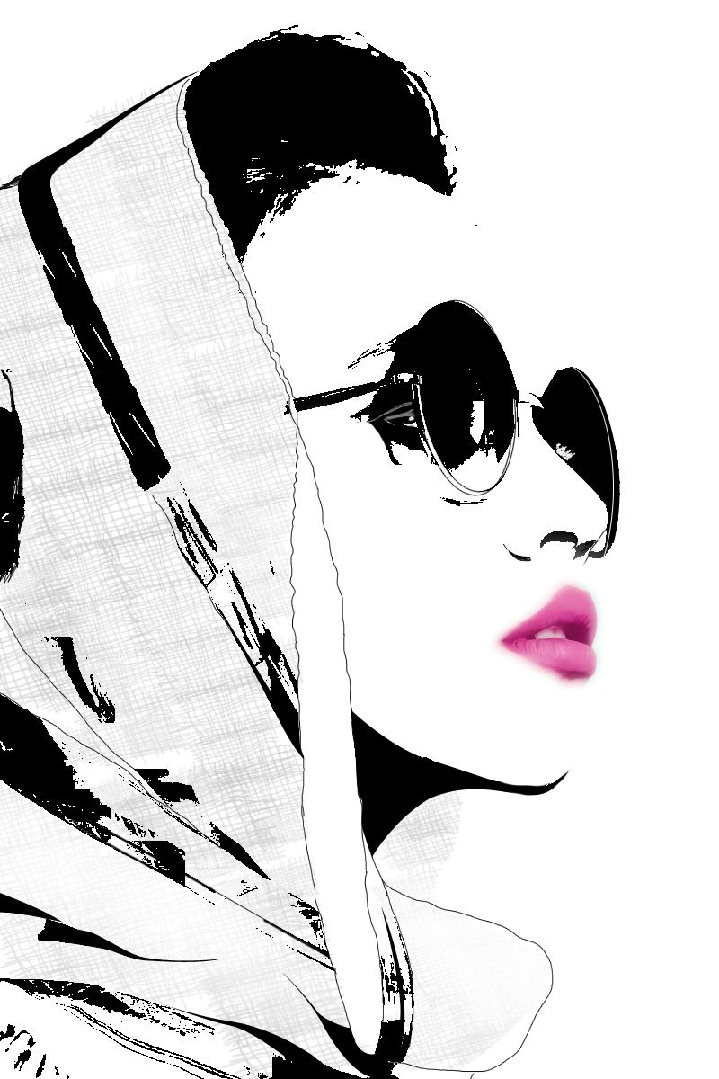 Line Art Illustration Style : In her eyes fashion from years gone bye pinterest