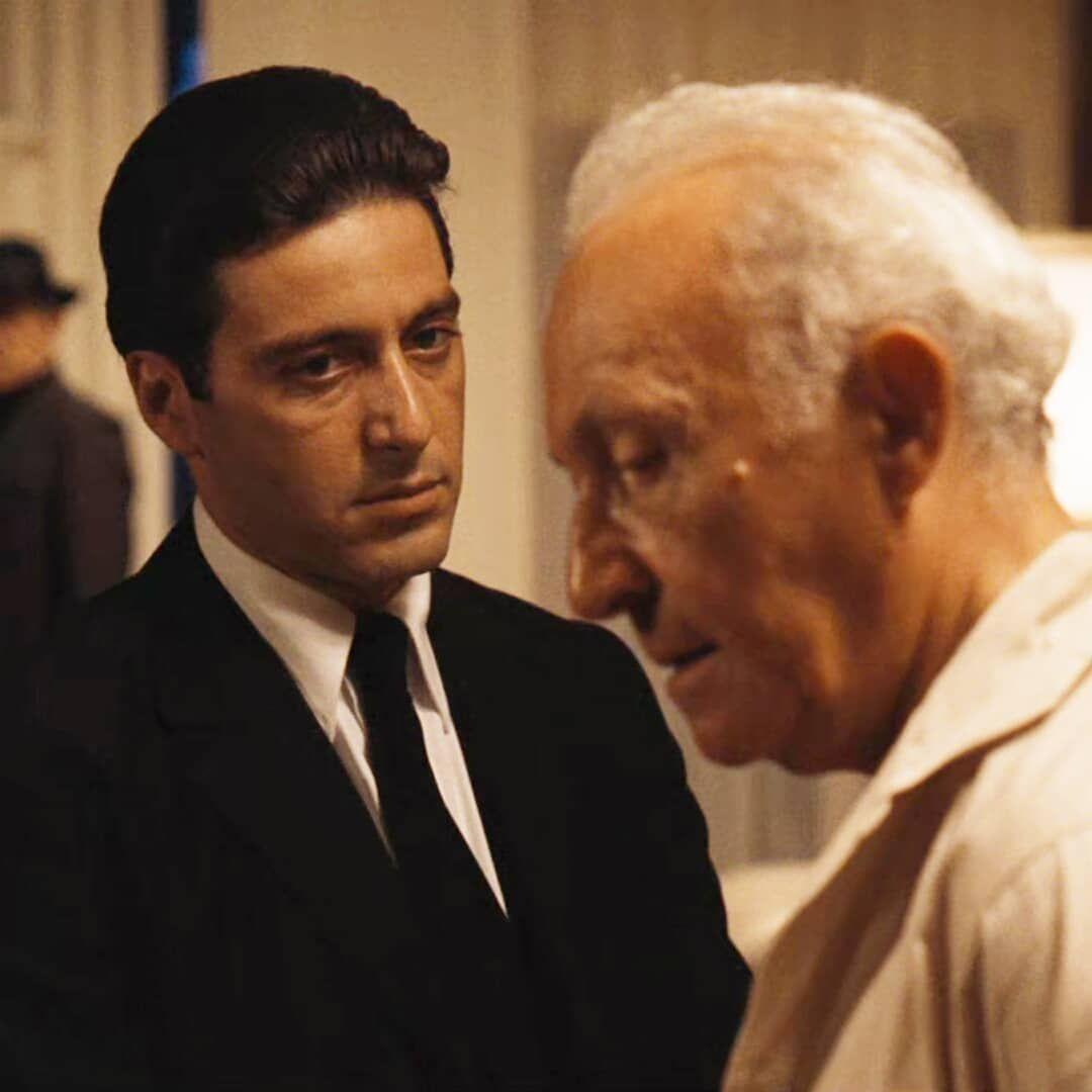 Michael Corleone Hyman Roth The Godfather Part Ii