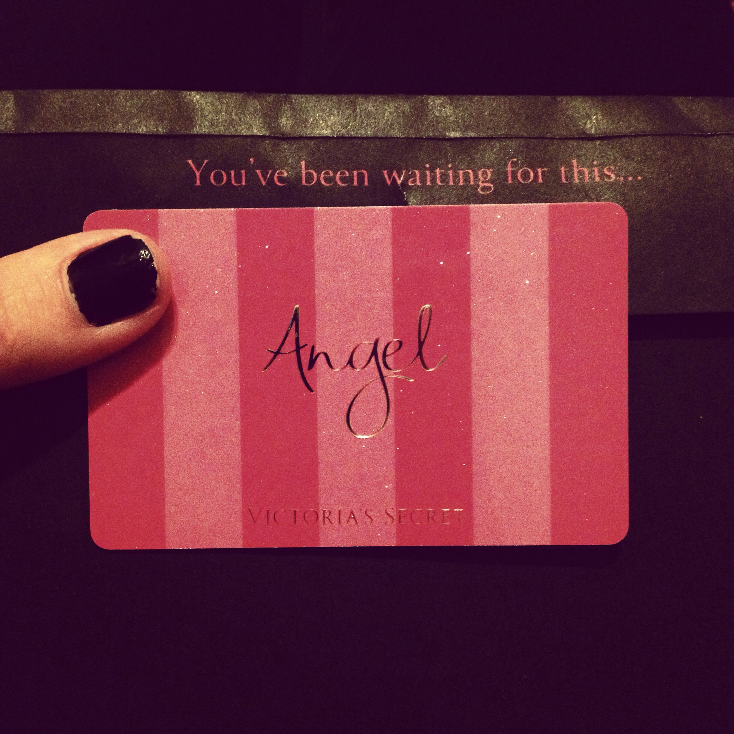 Red bump piercing  First thing to do when you turn  apply for VS Angel Card  FM