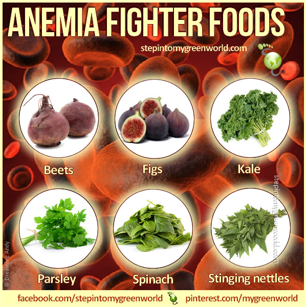 how to cure anemia with diet