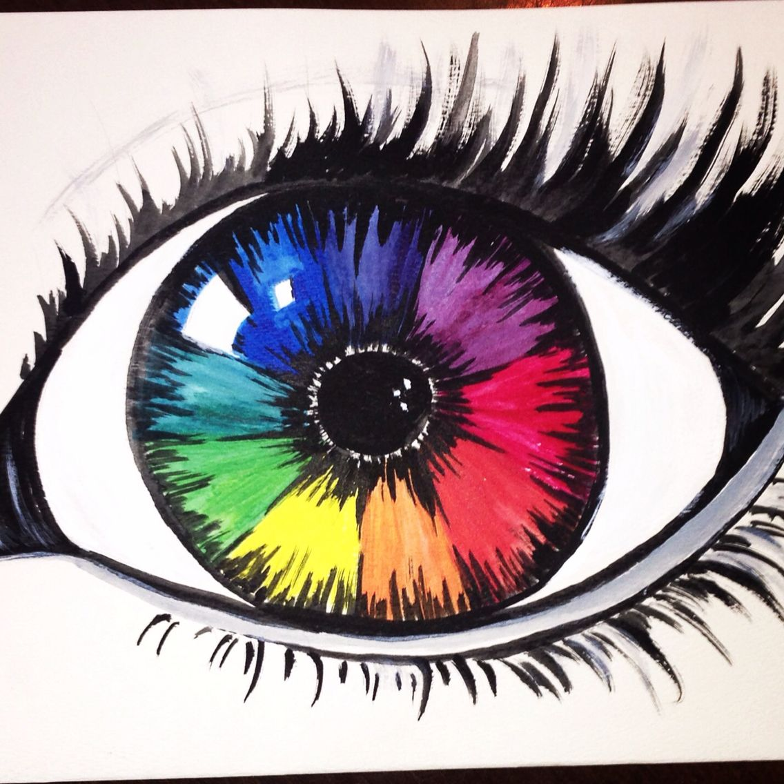 Color Wheel Lesson Idea From Awesome Rh Com Google Eye Drawing