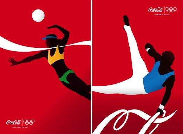 【廣告創意】分解可口可樂LOGO來大玩創意廣告   大人物