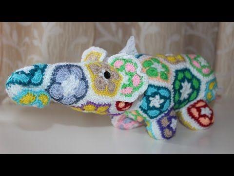 Make a Crochet African Flower Elephant - DIY Crafts - Guidecentral ...