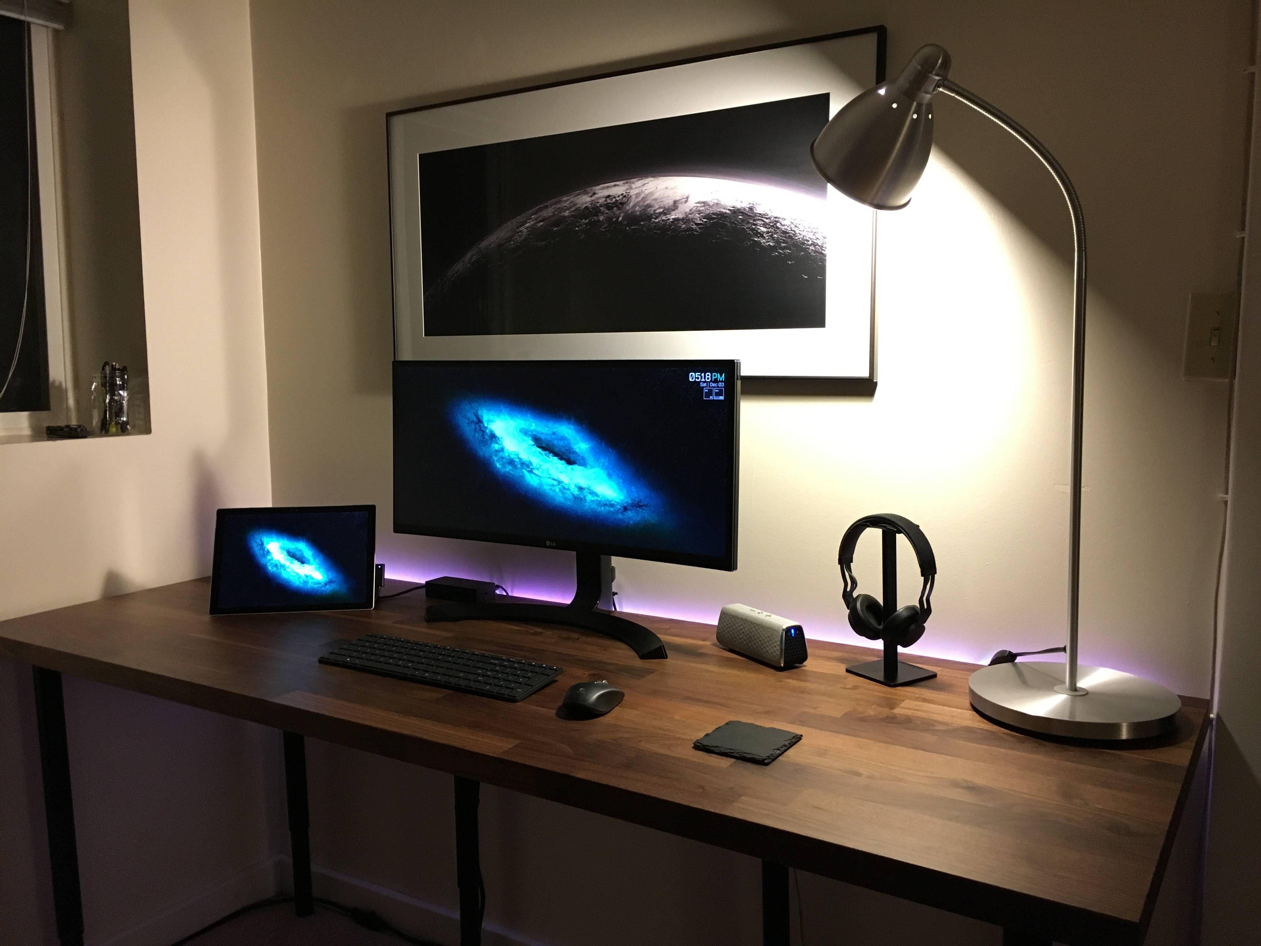 Https Www Reddit Com R Battlestations Comments 5gevvn Study Station Gaming Room Setup Home Office Setup Gamer Room