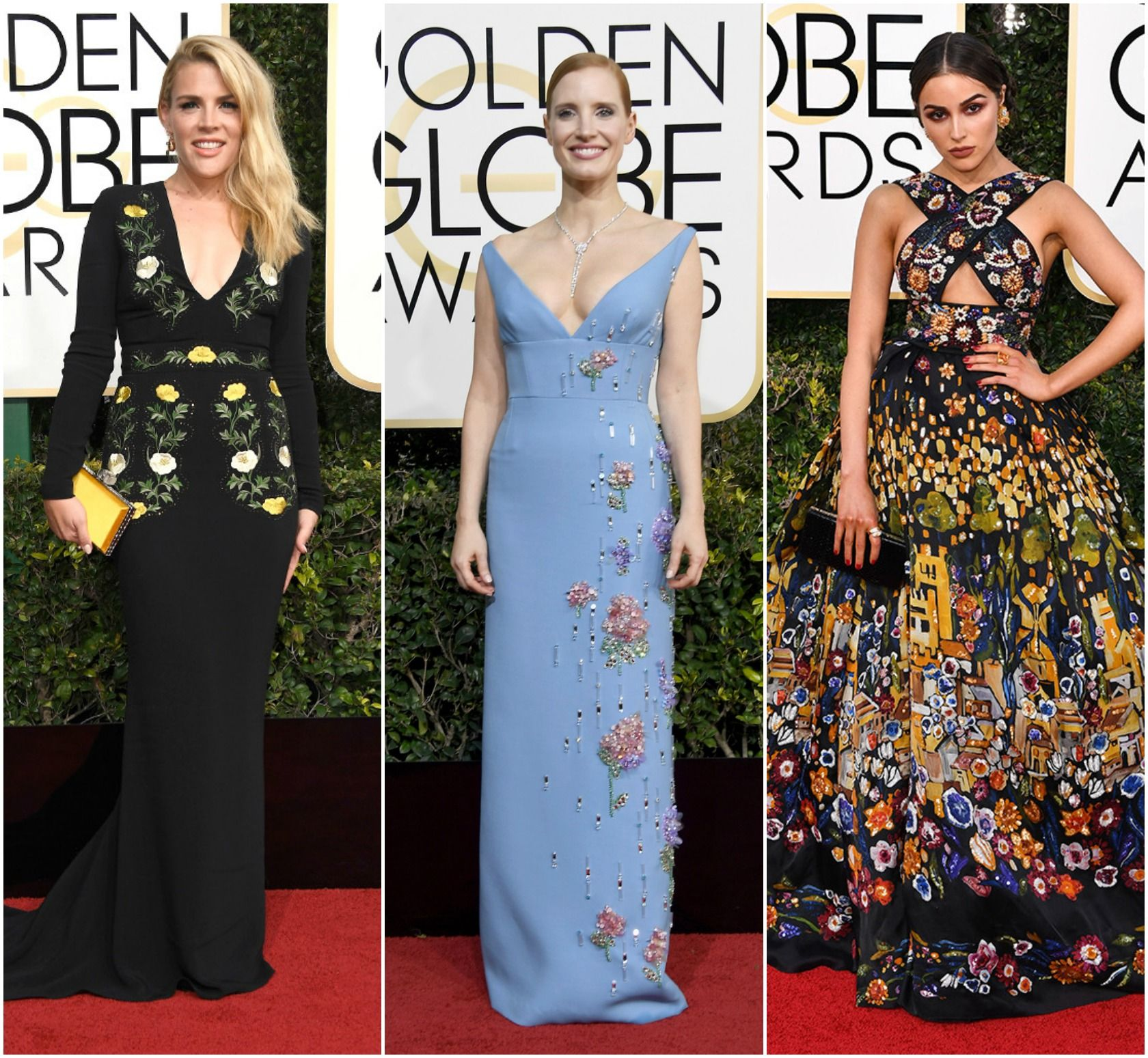 Five Wearable Trends From the Golden Globes 2017 Red Carpet