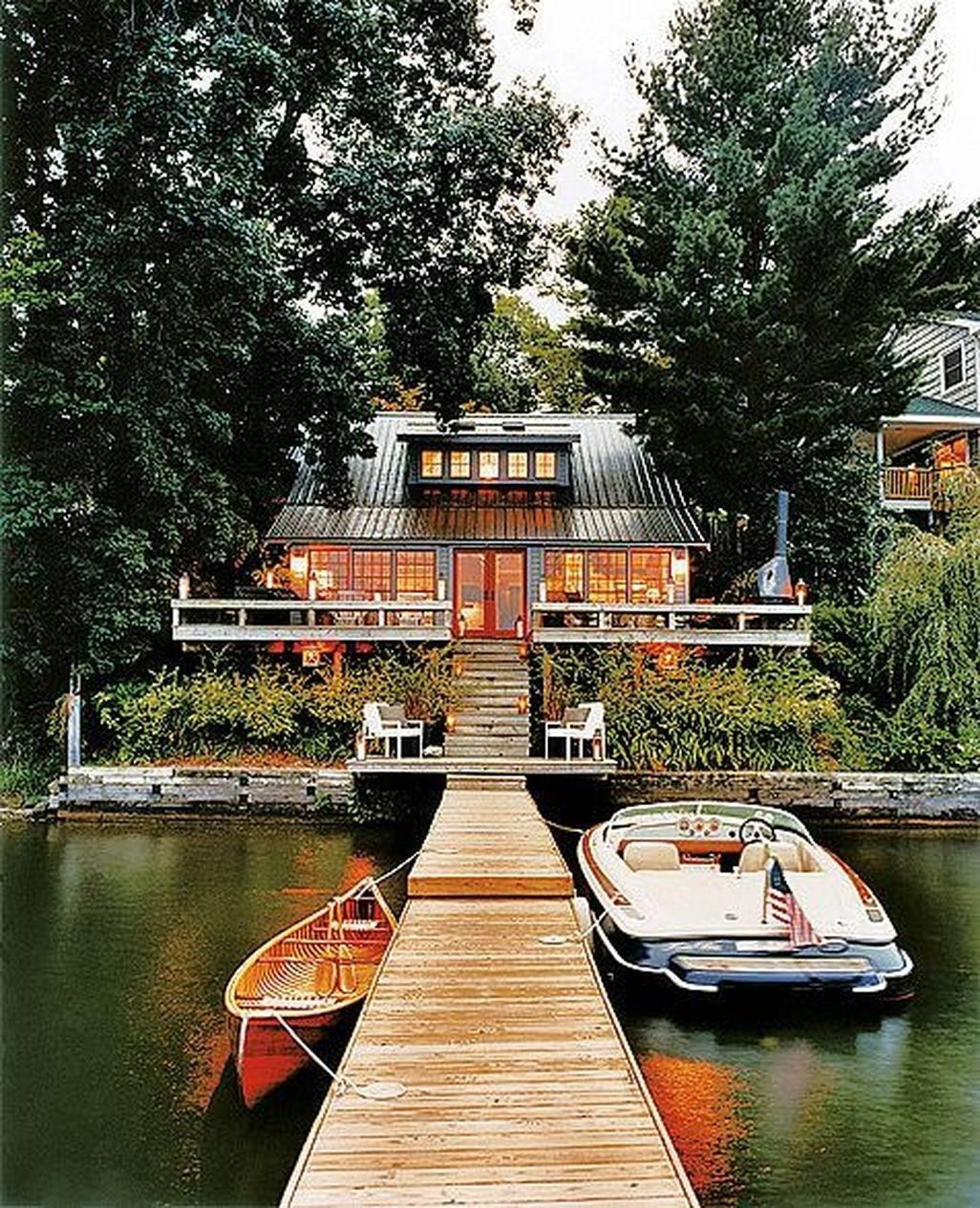 Perfect 41 Totally Inspiring Lake House Home Design Ideas   TrendHomy.com