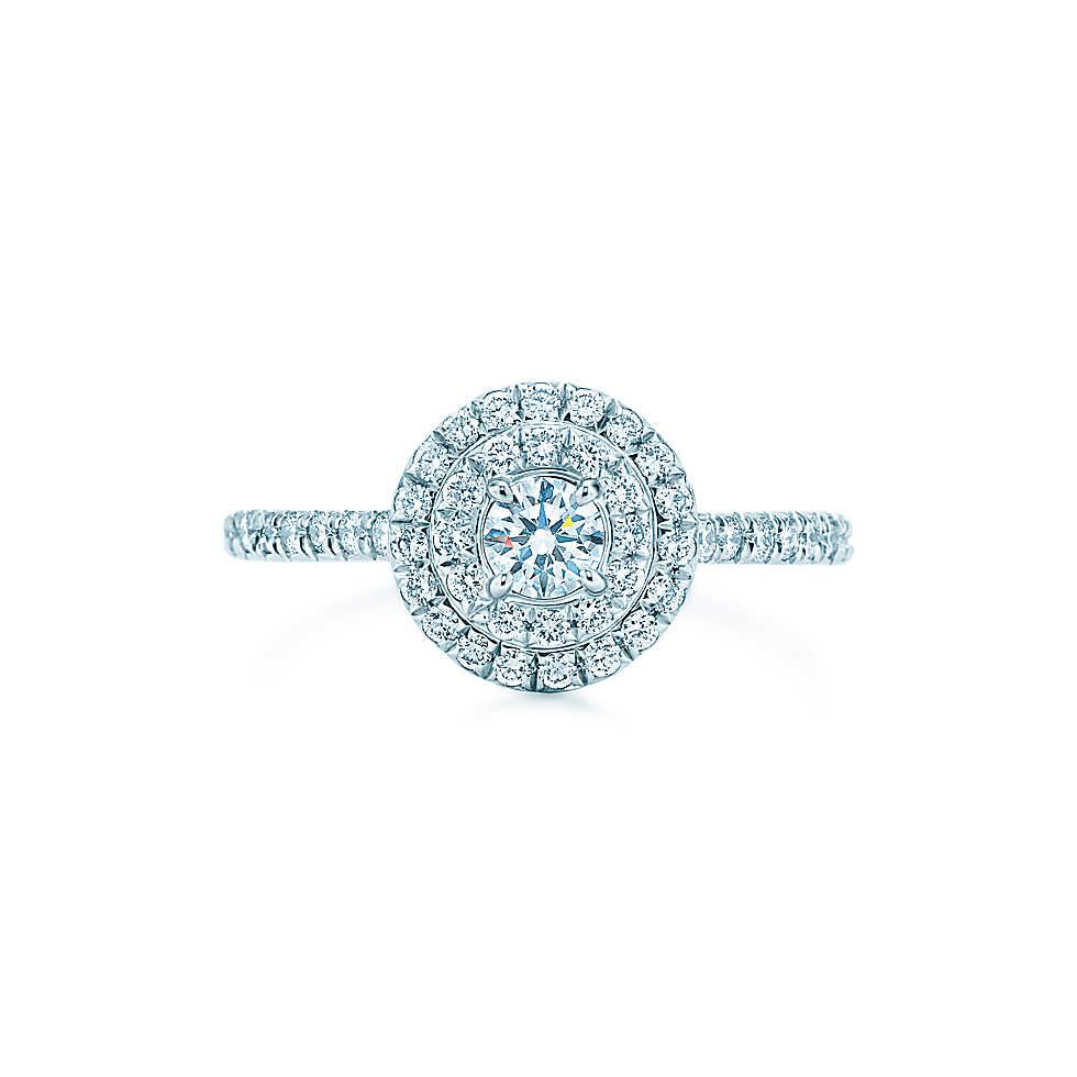 Tiffany Soleste® Round Engagement Rings  Tiffany & Co Liz's Ultimate Engagement  Ring