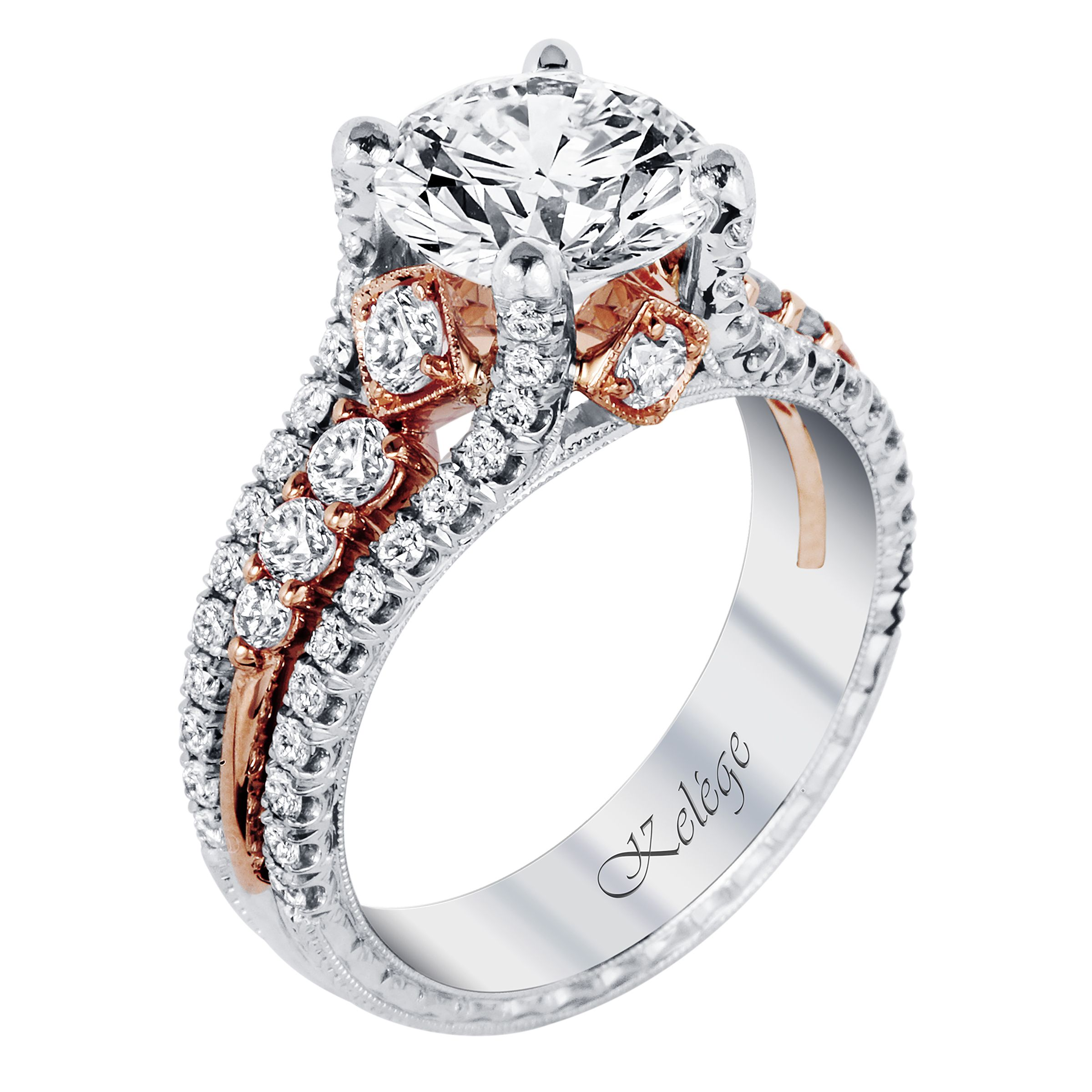 The Art of Individual Perfection. Platinum Engagement Ring