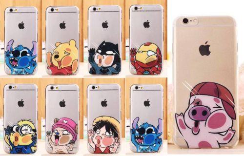 Disney Funda para Apple IPHONE 5 5s Se 5c 6 6s 7 8 Plus 10X XS
