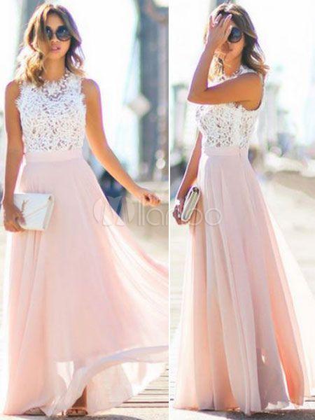 Schickes kleid rosa