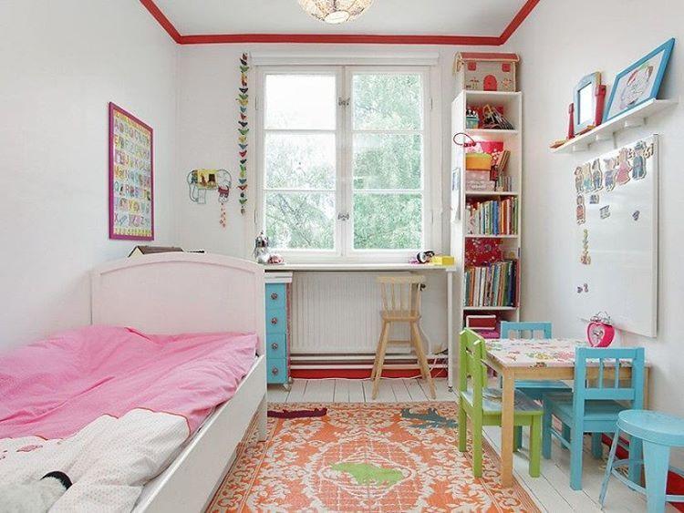 Desain Ruang Bermain Anak Dan Ruang Belajar Yang Nyaman Desain Ruangan Kecil Kamar Tidur Kecil Girls Bedroom