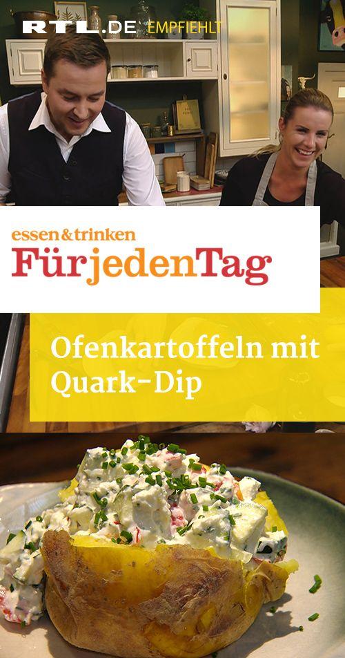 Photo of Ofenkartoffeln mit Quark-Dip