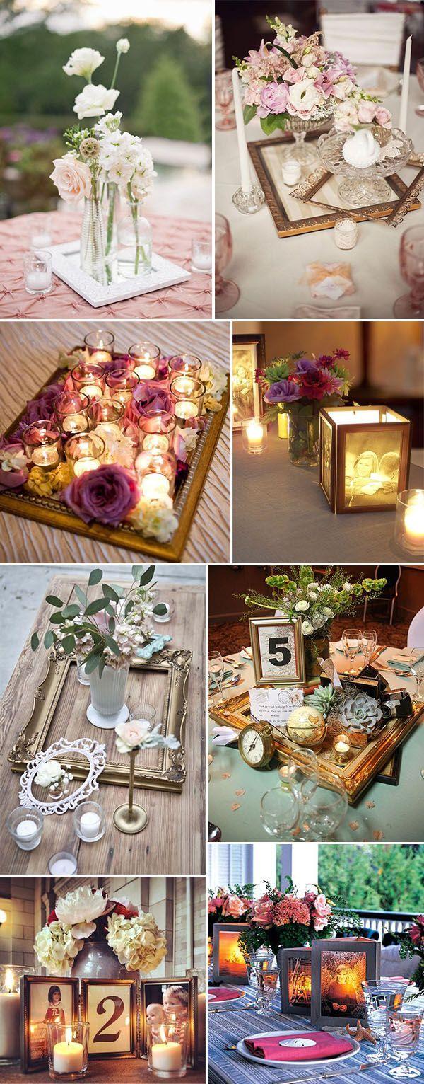 39 Creative Vintage Wedding Ideas With Photo Frames Wedding Things