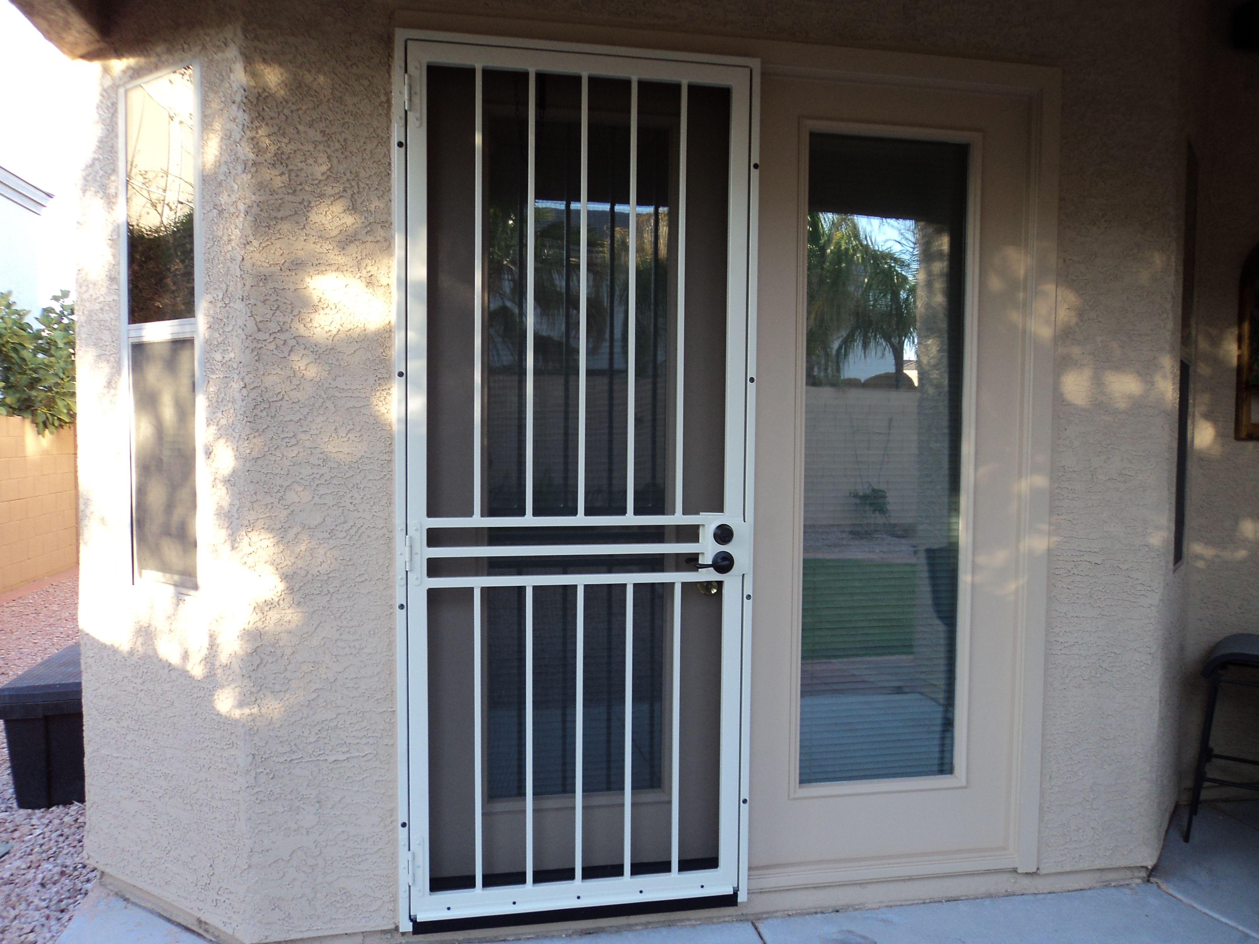 Security Storm Doors With Screens Within Size 4000 X 3000 Door