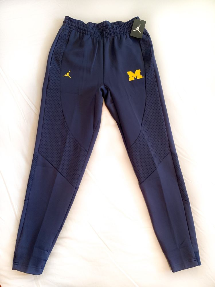462dfbbf4929f6 Nike Air Jordan Michigan Wolverines AJ1 Wings Warm Up Pants Navy Blue Men s  M  fashion  clothing  shoes  accessories  mensclothing  pants (ebay link)