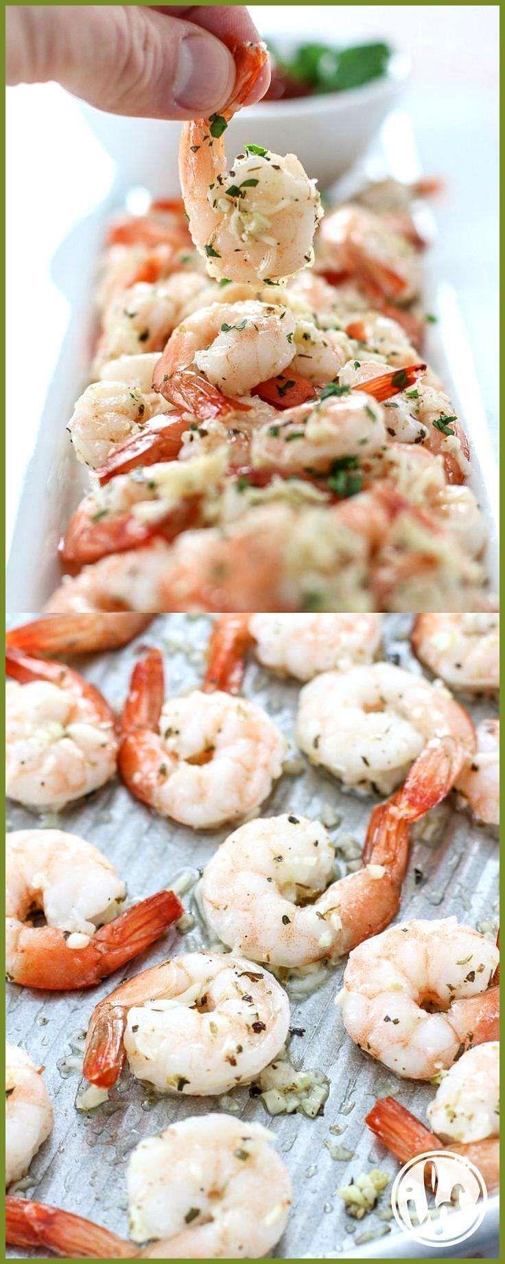 Roasted Garlic Parmesan Shrimp appetizer recipe appetierz no bake appetierz wreath